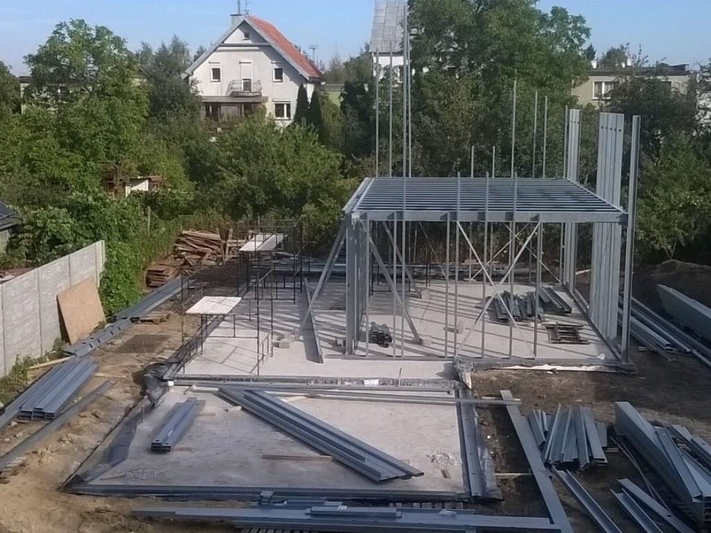 konstrukcja stalowa domu 1