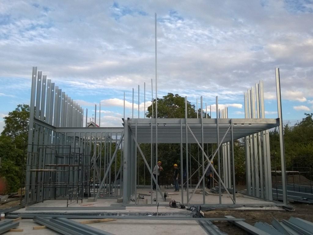 konstrukcja stalowa domu 2