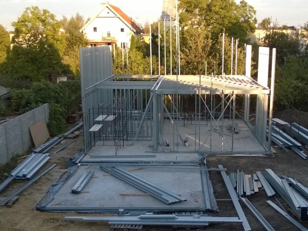 konstrukcja stalowa domu 3