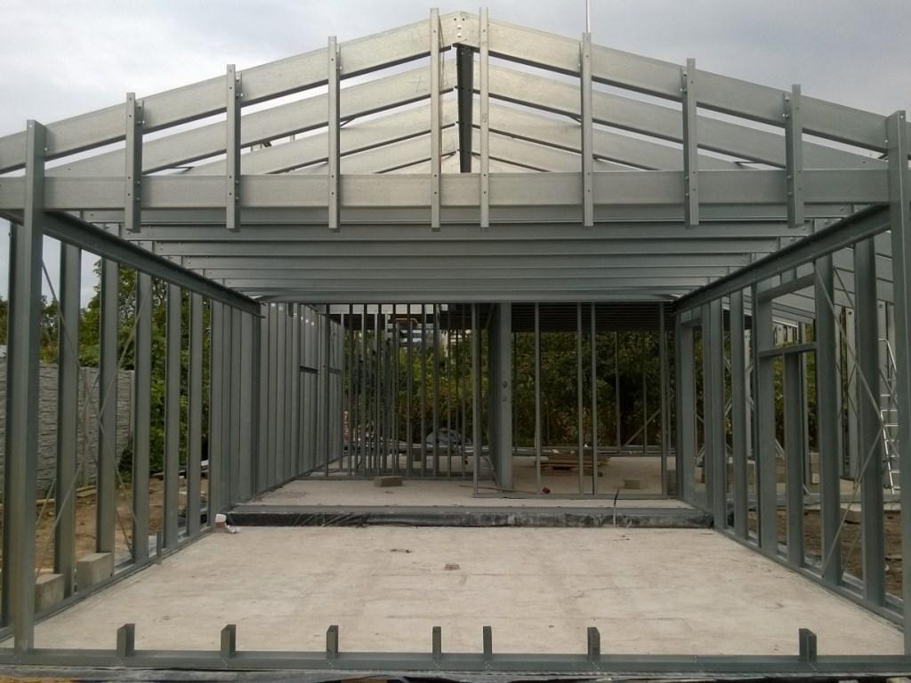 konstrukcja stalowa domu 6