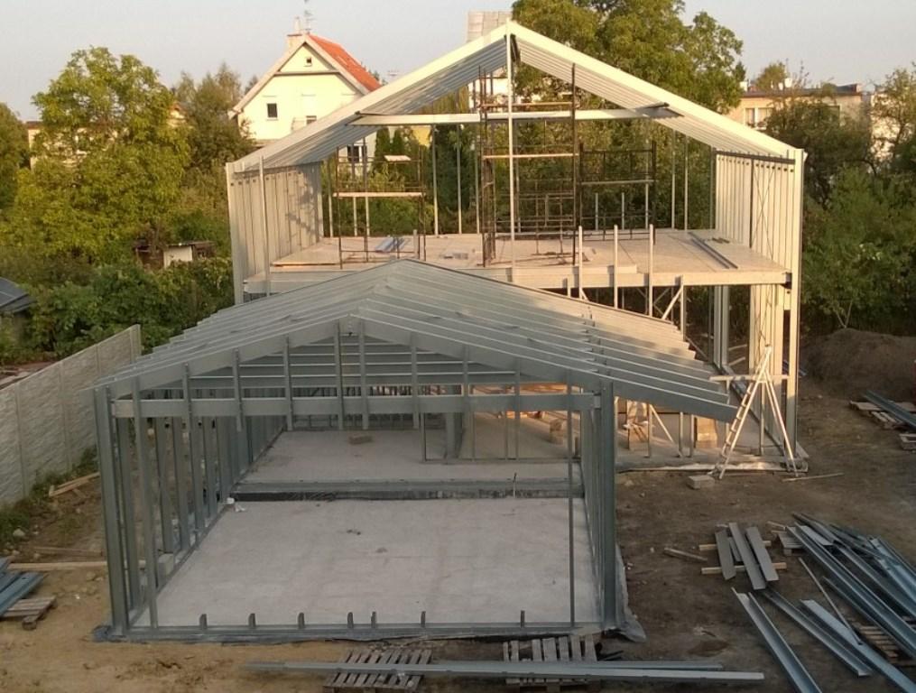 konstrukcja stalowa domu 7