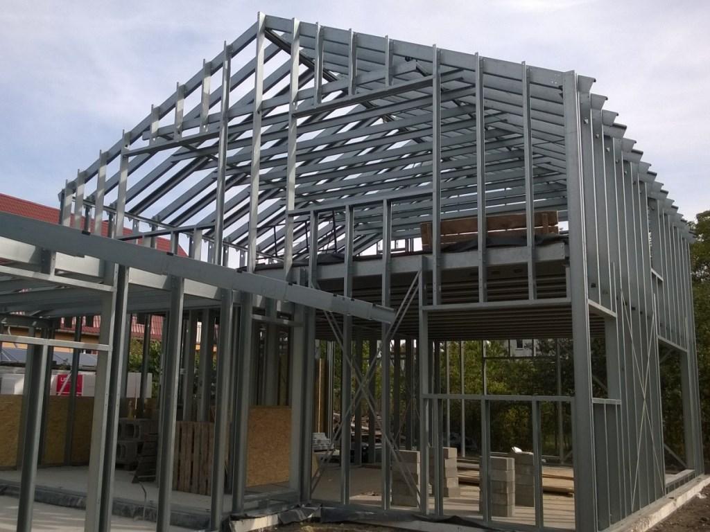 konstrukcja stalowa domu 8