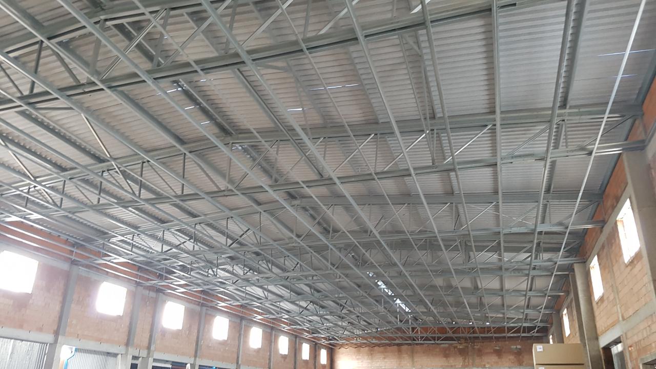 Konstrukcja stalowa dachu Piaski2 3